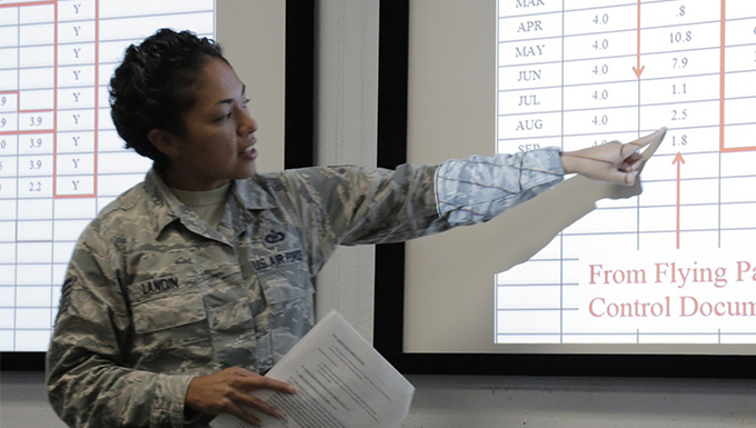 436th Training Squadron instructor named ACC winner of AF outstanding aviation resource management award