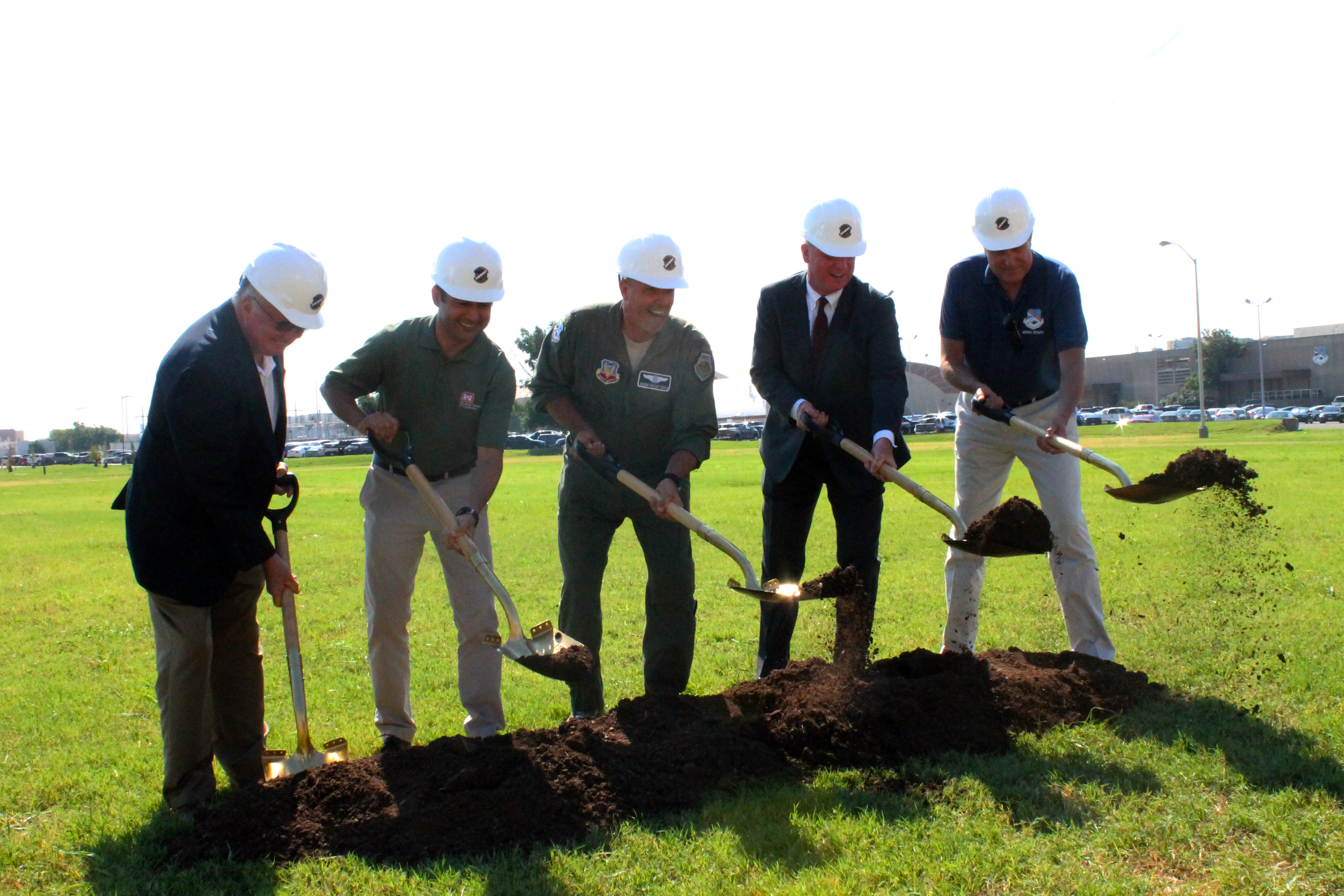 New Simulator Building underway for 552nd Air Control Wing
