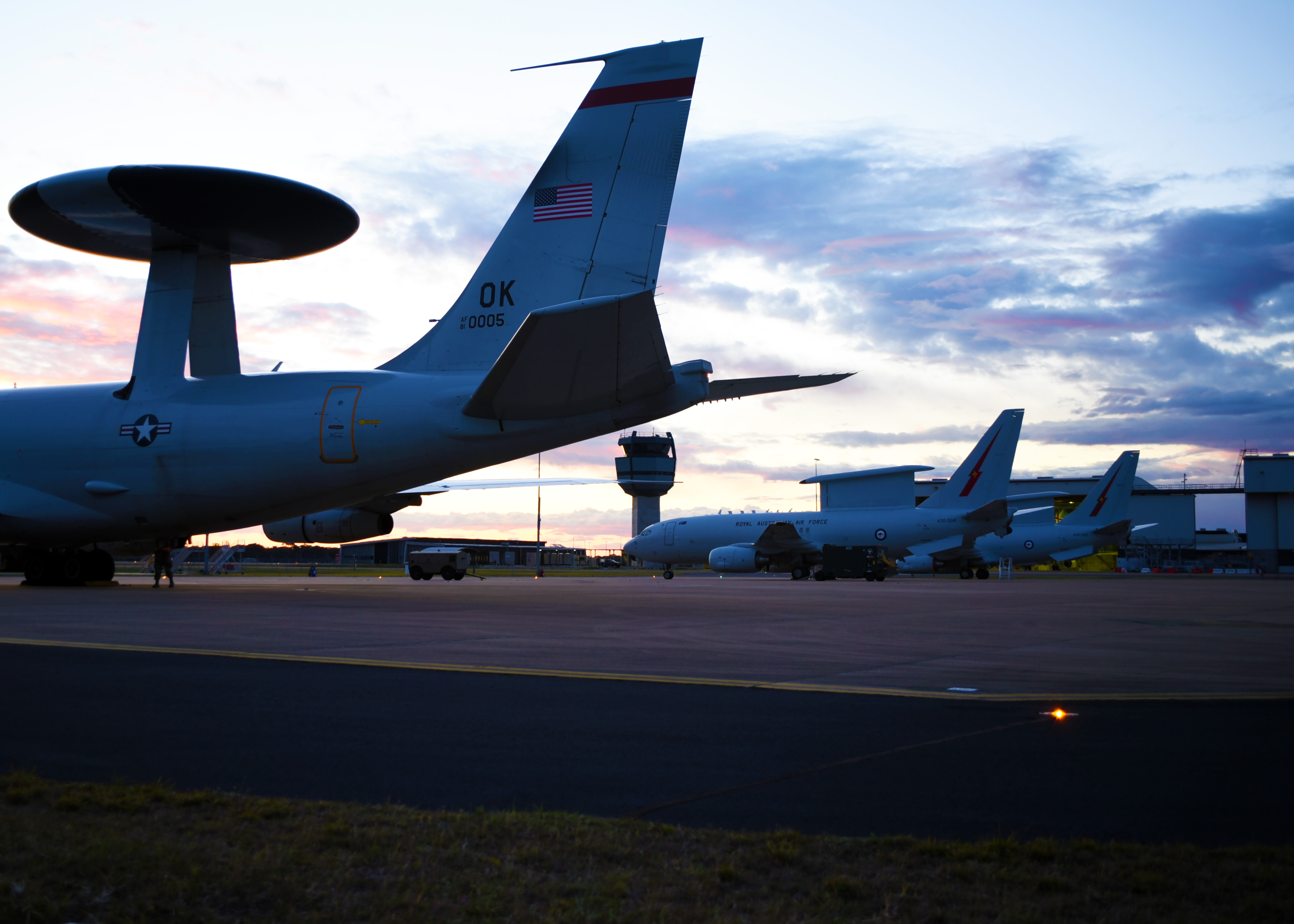 552nd Air Control Wing integrates with Australia