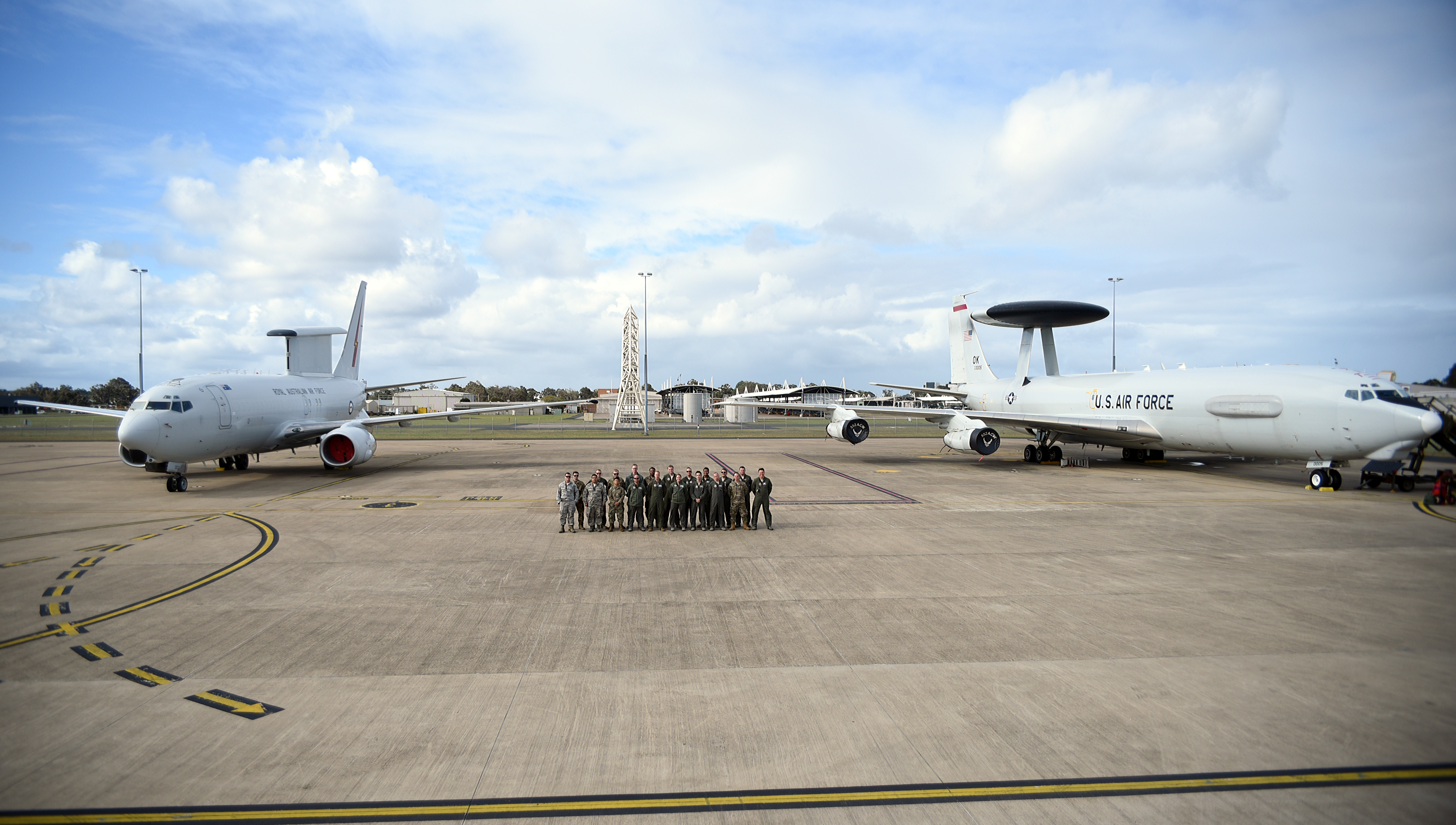 960th flies with the Royal Australian Air Force
