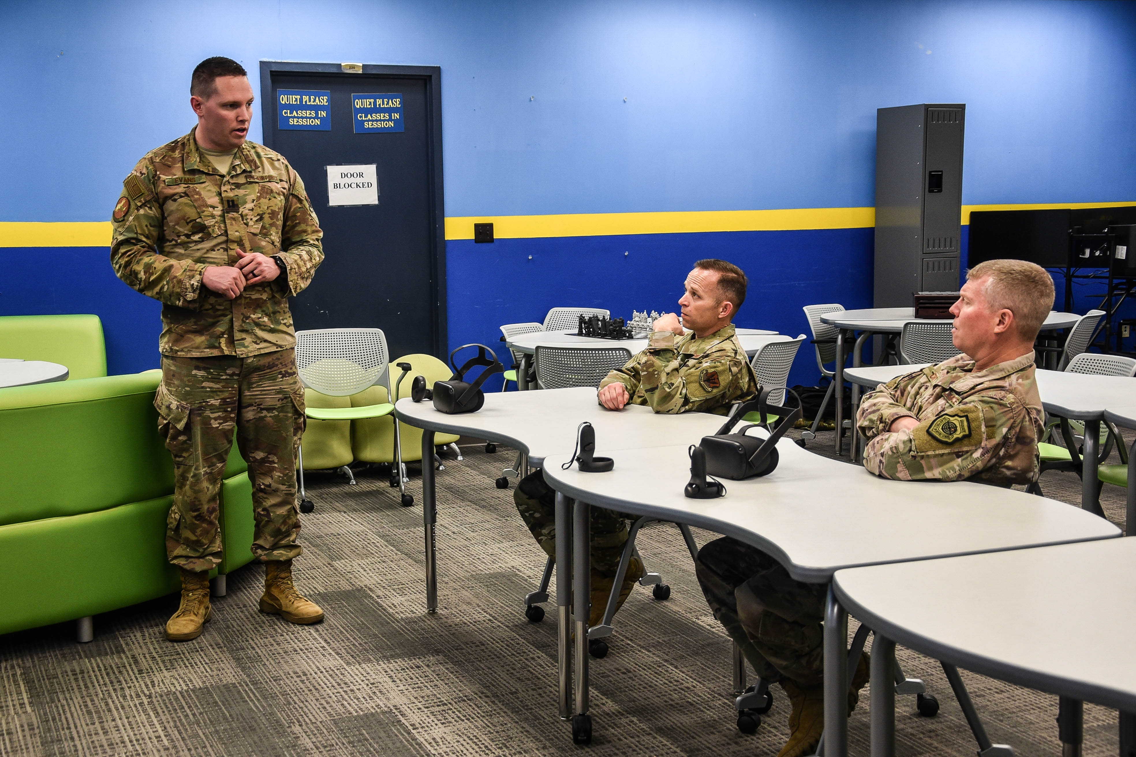 12th Air Force Commander visits 552nd