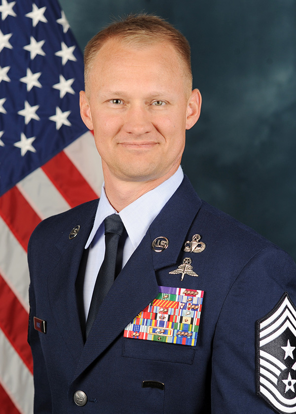 CMSgt. Mark A. Hurst